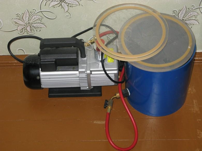 вакуумные камеры дегазации